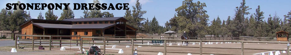 stone pony dressage central oregon