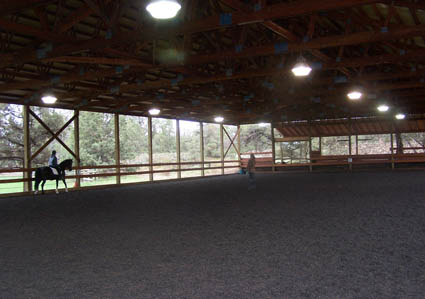 dressage facility covered arena