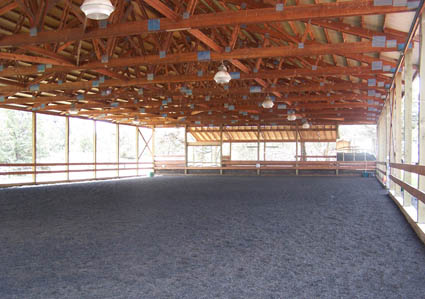 dressage facility arena